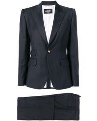 DSquared² - Striped Two-piece Suit - Lyst