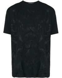 Issey Miyake - Crinkled Textured T-shirt - Lyst