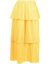 Bambah Playa Ruffled Skirt - Yellow