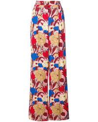 Vivetta - Floral Print Trousers - Lyst