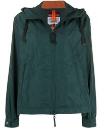 Parajumpers Drawstring Hooded Jacket - Green