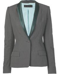 Haider Ackermann Hour Glass Blazer Jacket - Gray