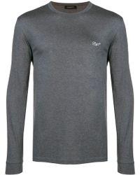 Ermenegildo Zegna - Classic Logo Sweatshirt - Lyst