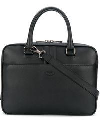 Tod's スリム ビジネスバッグ - ブラック