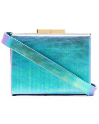 Marzook Capsule Iridescent Belt Bag - Blue