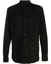 Loewe Рубашка С Тиснением - Черный