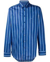 Etro - Полосатая Рубашка С Вышитым Логотипом - Lyst