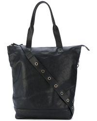 P.A.R.O.S.H. Shopping Shoulder Bag - Black