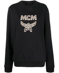 MCM ロゴ プルオーバー - ブラック