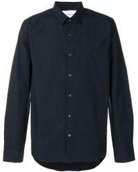 Calvin Klein - Stretch Shirt - Lyst