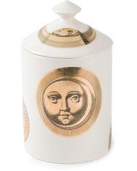 Fornasetti Soli E Lune Scented Candle (300g) - White