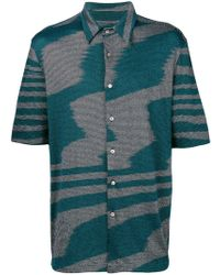 Missoni - Shortsleeved Button Shirt - Lyst