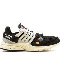 NIKE X OFF-WHITE X Off-white The 10: Air Presto Sneakers - Zwart