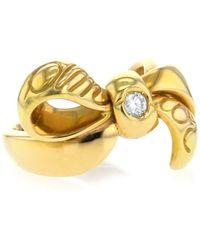 Dior Кольцо Из Желтого Золота 2000-го Года - Металлик