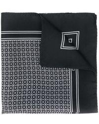 Dolce & Gabbana Vierkante Sjaal Met Print - Zwart