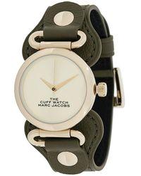 Marc Jacobs Rond Horloge - Metallic