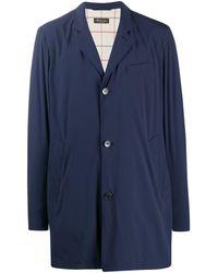 Loro Piana オーバーサイズ ジャケット - ブルー