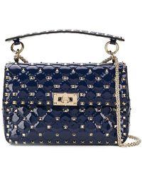 Valentino - Garavani Rockstud Spike Chain Bag - Lyst