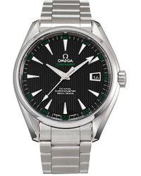 Omega Наручные Часы Seamaster Aqua Terra 150 М Co-axial Pre-owned 42 Мм 2003-го Года - Металлик