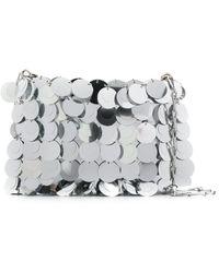 Paco Rabanne Sparkle 1969 Sequin Shoulder Bag - Metallic