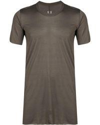 Rick Owens シルク Tシャツ - マルチカラー