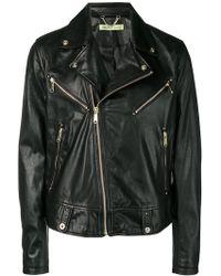 Versace Jeans Couture Biker Jacket - Black