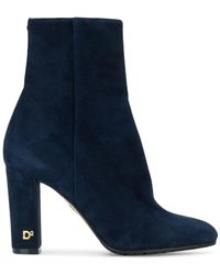 DSquared² - Almond Toe Ankle Boots - Lyst