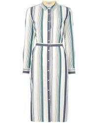 Guild Prime - Striped Shirt Dress - Lyst