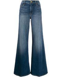 FRAME Jeans Met Wijde Pijpen - Blauw