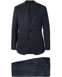 Giorgio Armani ツーピース スーツ - ブルー