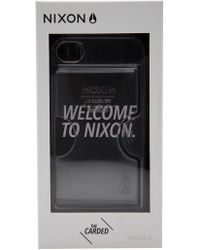 Nixon - 'carded' Iphone 4s Case - Lyst