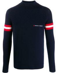 Perfect Moment Chamonix Turtle-neck Sweater - Blue