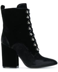 Kendall + Kylie - Lace Up Boots - Lyst