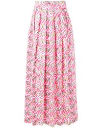 Ultrachic - Printed Skirt - Lyst
