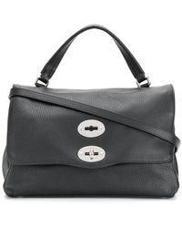 307b54c1b0b Lyst - Gucci Lady Lock Python Top Handle Bag in Black