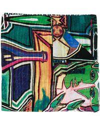 Paul Smith - Sciarpa Artist エンブロイダリースカーフ - Lyst