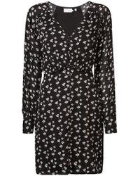 Tanya Taylor - Longsleeved Floral Print Dress - Lyst