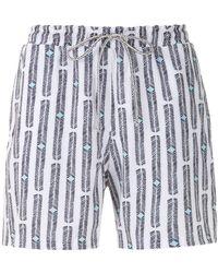 Lygia & Nanny Gil Printed Shorts - Blue