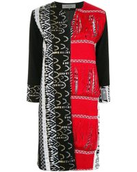 Han Ahn Soon - Embroidered Tailored Coat - Lyst