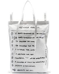 MM6 by Maison Martin Margiela - スローガン ハンドバッグ - Lyst