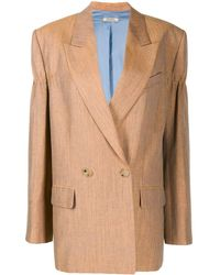 Nina Ricci Double breasted blazer - Arancione