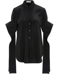JW Anderson - Round Hem EXAGGERATED Sleeve Shirt - Lyst