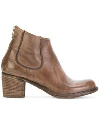 Officine Creative - Brushed Ankle Boots - Lyst