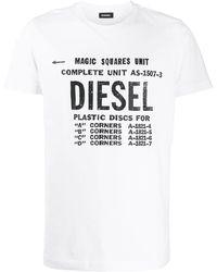 DIESEL ロゴ Tシャツ - ホワイト