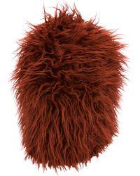 Marni - Cappello Di Pelliccia Sintetica - Lyst