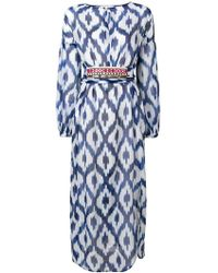 Bazar Deluxe Robe imprimée - Bleu