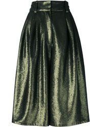 Marc Jacobs Кюлоты С Пайетками - Зеленый