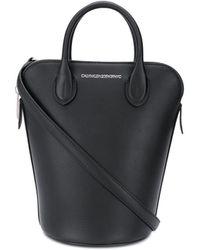 CALVIN KLEIN 205W39NYC Bucket Tote Bag - Black