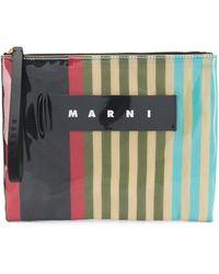 Marni Клатч С Глянцевым Покрытием - Многоцветный