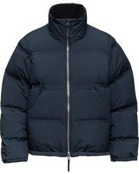 Aztech Mountain Panda Puffer Down Jacket - Blue